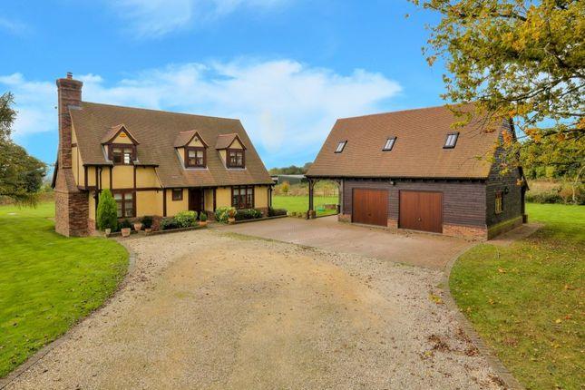 4 bed detached house for sale in Coles Lane, Kinsbourne Green, Harpenden