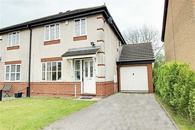 Thumbnail Semi-detached house to rent in Old School Lane, Calow, Chesterfield, Derbyshire