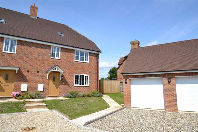 Thumbnail Semi-detached house for sale in Folly Court, Cold Ash Hill, Cold Ash, Berkshire