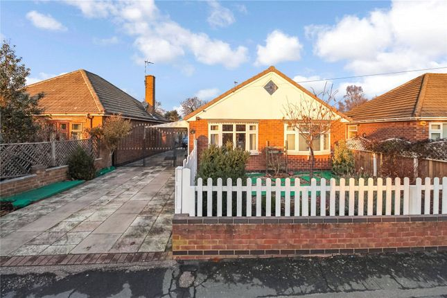 Thumbnail Bungalow for sale in Merton Avenue, Syston, Leicester, Leicestershire