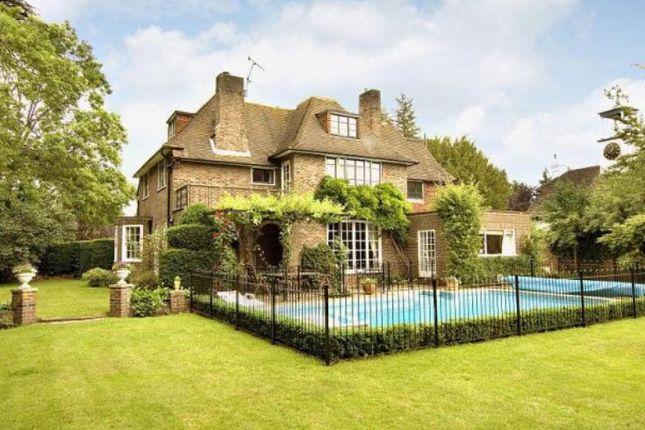 Thumbnail Detached house to rent in Weybridge Park, Weybridge