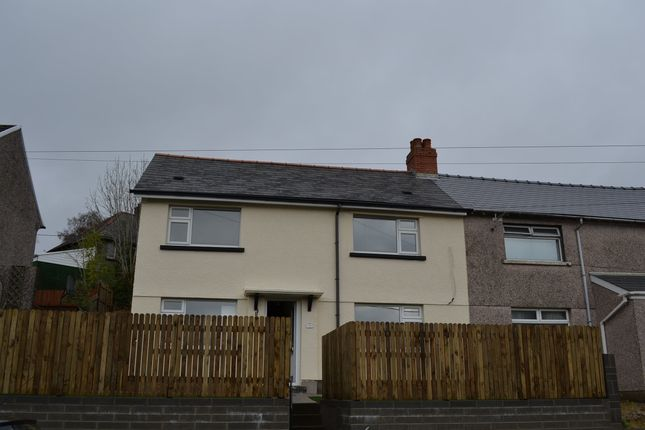 Thumbnail Semi-detached bungalow to rent in Bryn Road, Llanfach, Abercarn