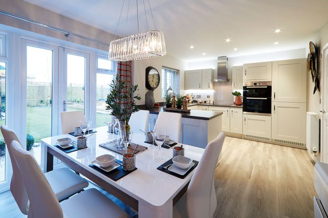 "Thumbnail Detached house for sale in ""The Titchfield"" at Pepper Lane, Standish, Wigan"