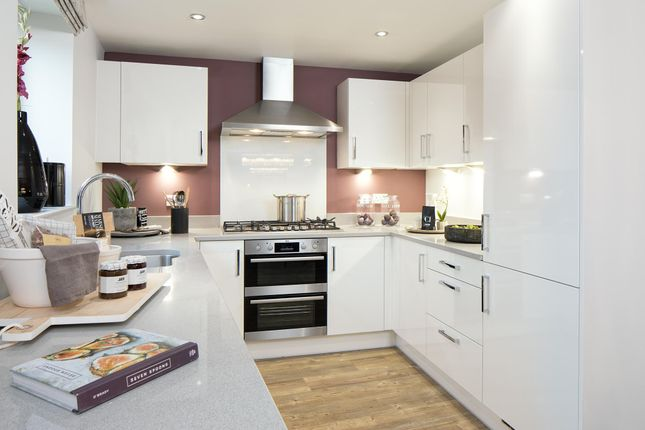 """Thumbnail End terrace house for sale in """"Highclere"""" at Fetlock Drive, Newbury"""