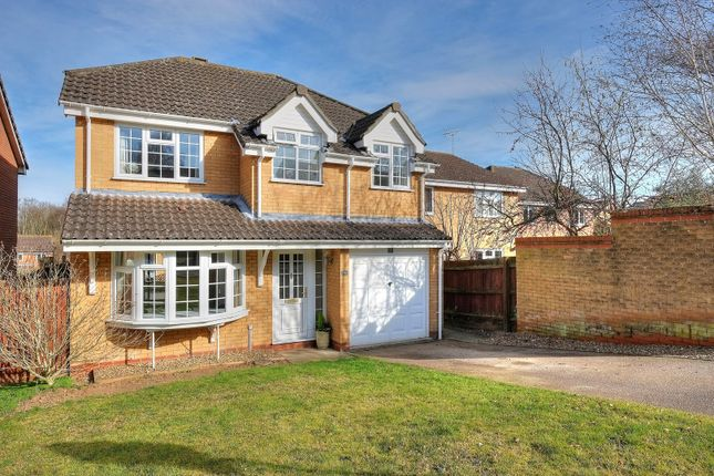 Thumbnail Detached house for sale in Hazel Close, Taverham, Norwich