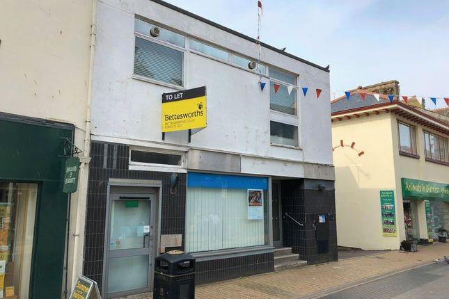 Thumbnail Retail premises to let in Brixham