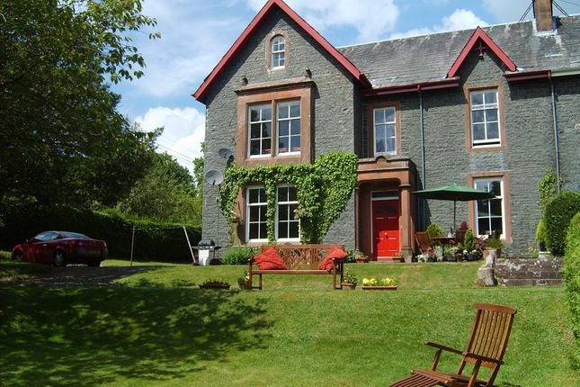 Thumbnail Flat for sale in Clarefoot, Well Road, Moffat, Dumfries And Galloway.