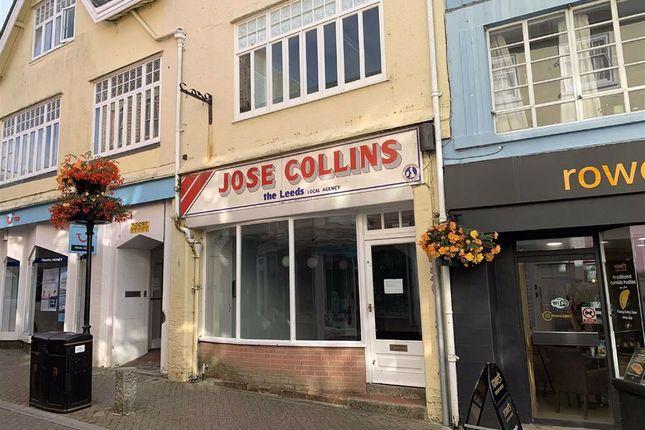 Thumbnail Retail premises to let in 71, Causewayhead, Penzance, Cornwall