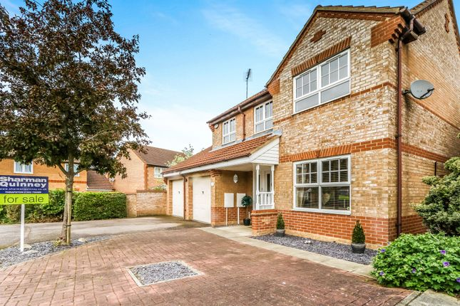 Thumbnail Detached house for sale in Tyler Way, Thrapston, Kettering