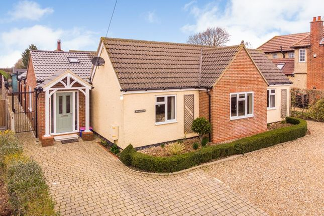 Thumbnail Detached bungalow for sale in Limpsfield, High Street, Oakley, Bedford