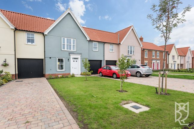 Thumbnail Terraced house for sale in Strawberry Avenue, Lawford, Manningtree