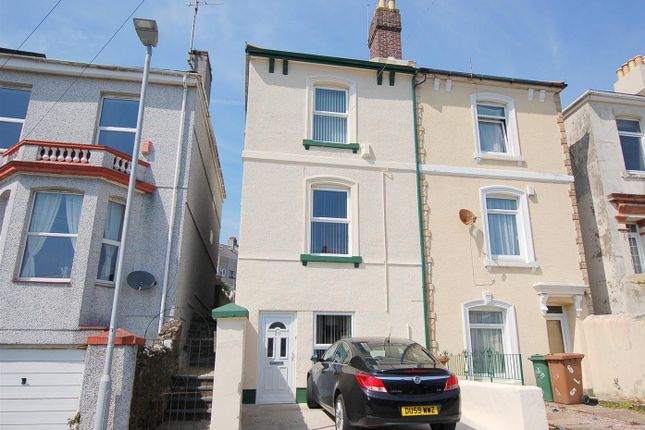Thumbnail Semi-detached house for sale in Sussex Road, Ford, Plymouth