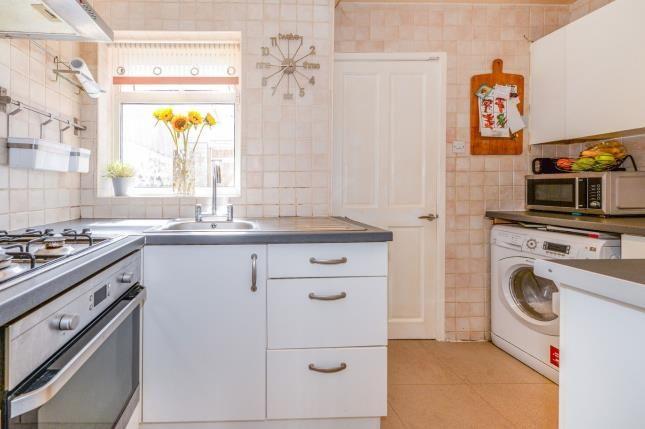 Kitchen of Bowood Street, Liverpool, Merseyside L8