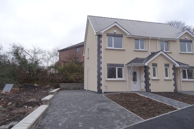 Thumbnail Semi-detached house to rent in Crud Yr Awel, Heolgerrig, Merthyr Tydfil