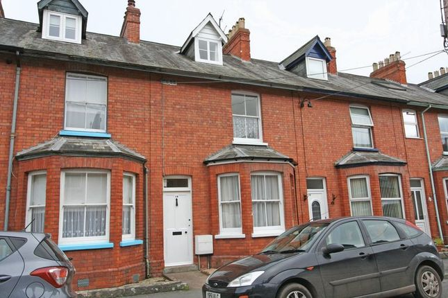 Thumbnail Terraced house to rent in Seymour Terrace, Tiverton