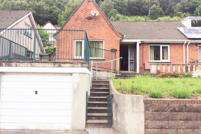 Thumbnail Semi-detached house for sale in Upper Tribute Avenue, Cwmcarn, Newport