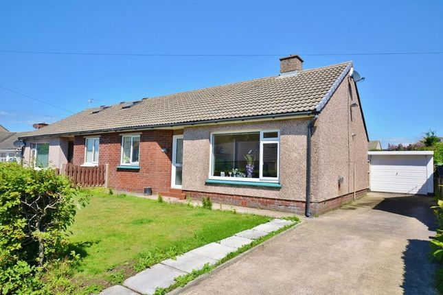 Thumbnail Semi-detached bungalow for sale in Broadacres, High Harrington, Workington