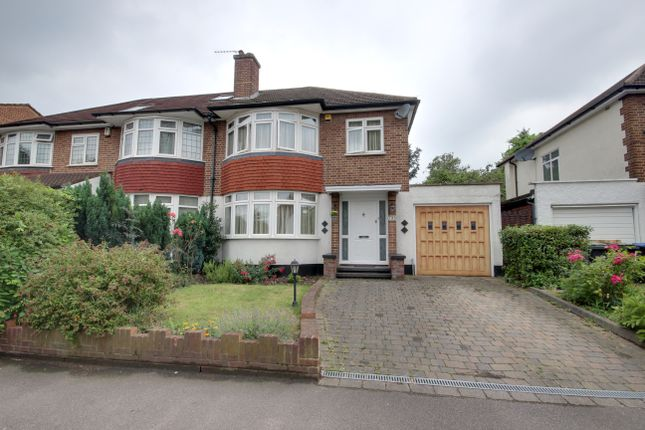 Thumbnail Semi-detached house for sale in Hoppers Road, Winchmore Hill
