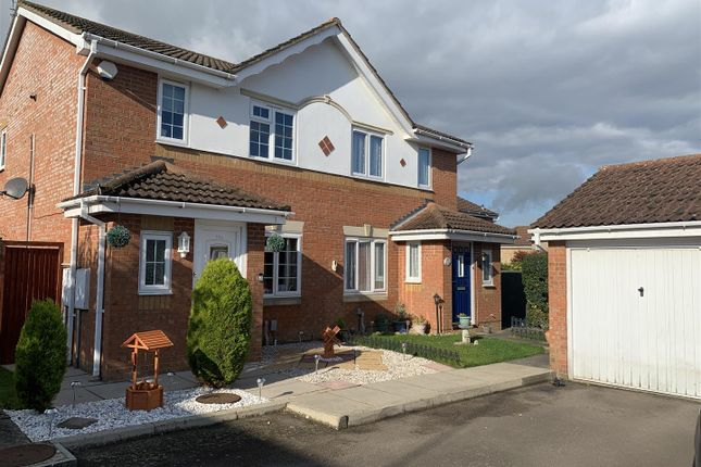 Thumbnail Semi-detached house for sale in Challinor, Church Langley, Harlow