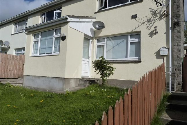 Thumbnail Flat to rent in Sandford Gardens, Torrington, Devon