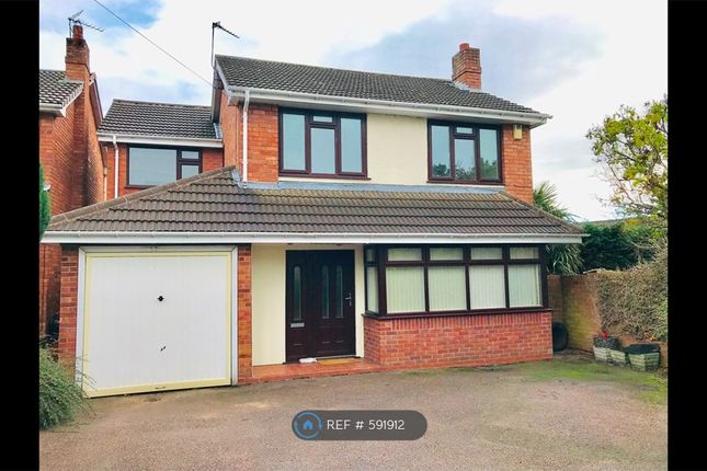 Thumbnail Detached house to rent in Thornfield Crescent, Burntwood
