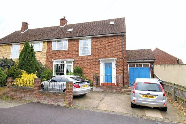 Thumbnail Semi-detached house for sale in Hobbs Hill Road, Hemel Hempstead