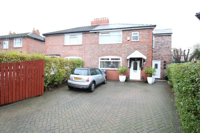 Thumbnail Semi-detached house for sale in Cundiff Road, Chorlton, Manchester
