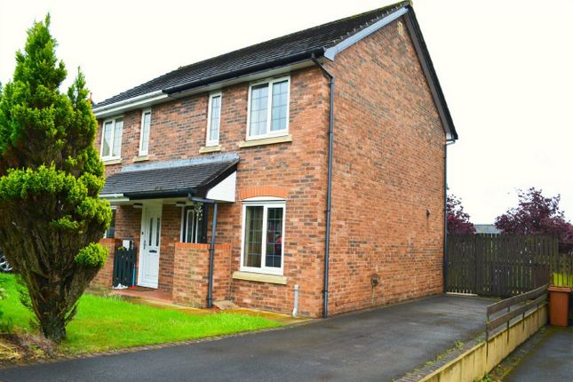 Thumbnail Semi-detached house to rent in Fir Garth, Cleator Moor, Cumbria