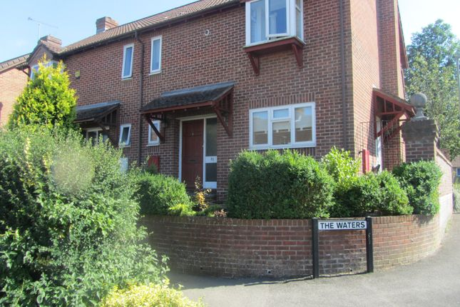 Thumbnail End terrace house to rent in Funtley Road, Fareham