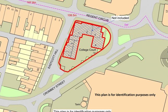 Thumbnail Land for sale in Regents Circus, Swindon