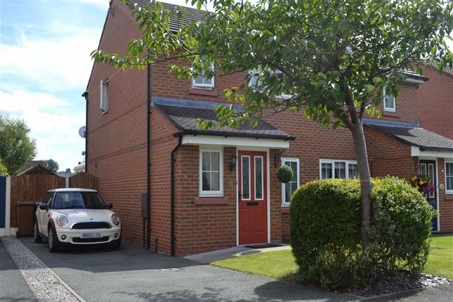 Thumbnail Semi-detached house for sale in Parker Way, West Heath, Congleton