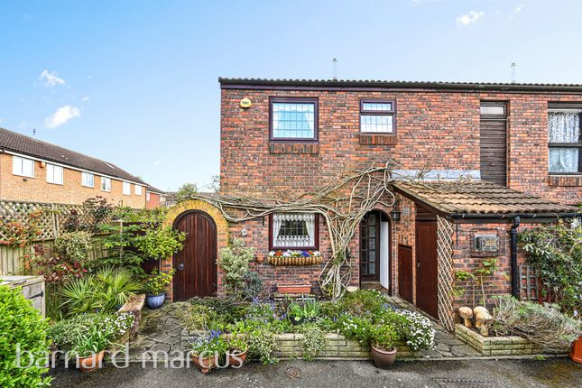 3 bed end terrace house for sale in Wimborne Close, Worcester Park KT4