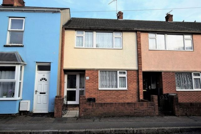 Thumbnail Terraced house to rent in Chamberlain Road, Exeter