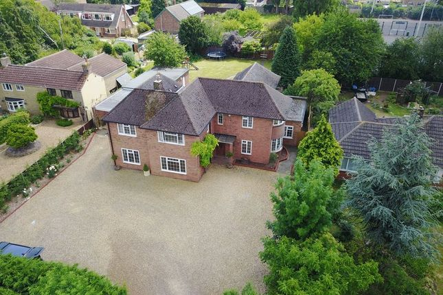 Thumbnail Detached house for sale in Spalding Road, Deeping St James, Peterborough