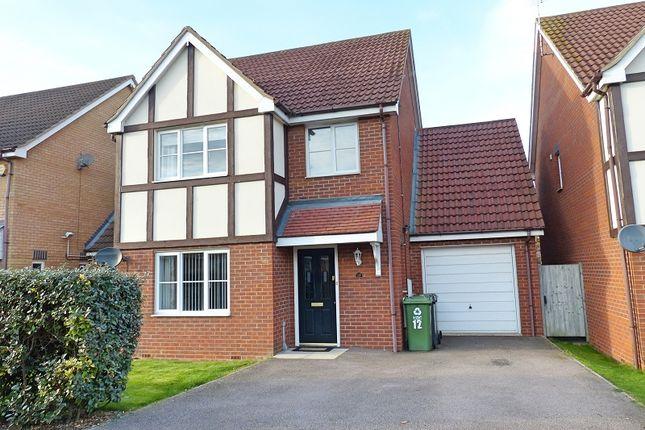 Thumbnail Detached house for sale in Edison Drive, Yaxley, Peterborough, Cambridgeshire.