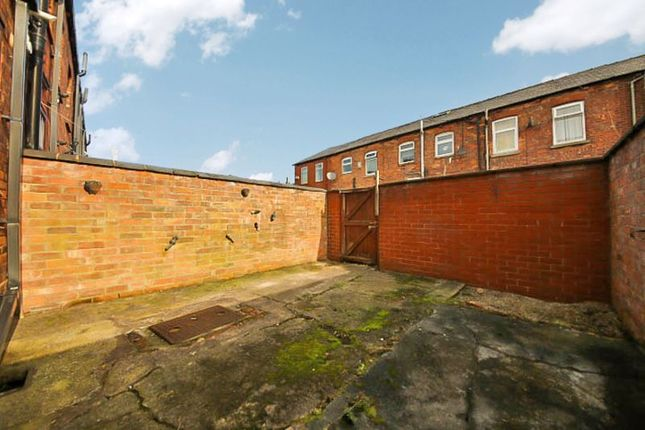 Rear Yard of Henry Park Street, Ince, Wigan WN1