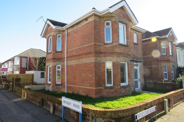Thumbnail Detached house for sale in Muscliffe Road, Winton, Bournemouth