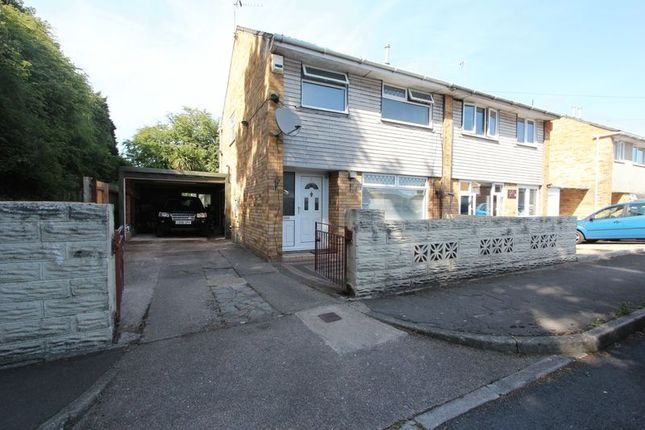 Thumbnail Semi-detached house for sale in Norwood Crescent, Barry