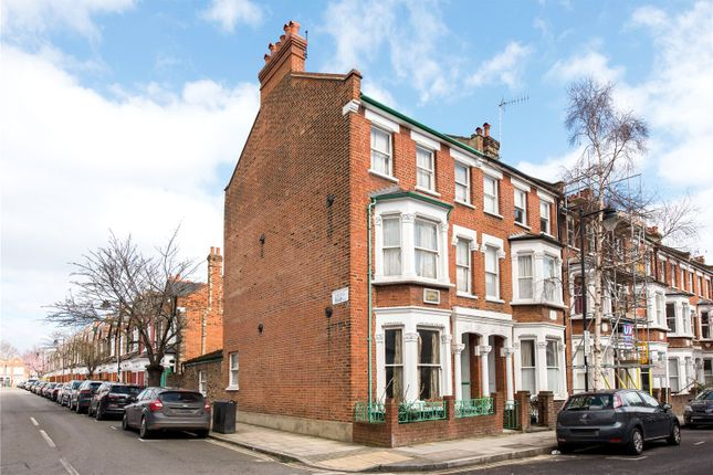 Thumbnail End terrace house for sale in Calabria Road, London