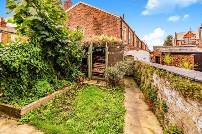 Garden of Buxton Road, Heaviley, Stockport, Cheshire SK2