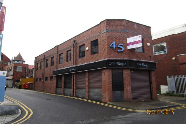Restaurant/cafe to let in York Road, Whitley Bay, Tyne & Wear