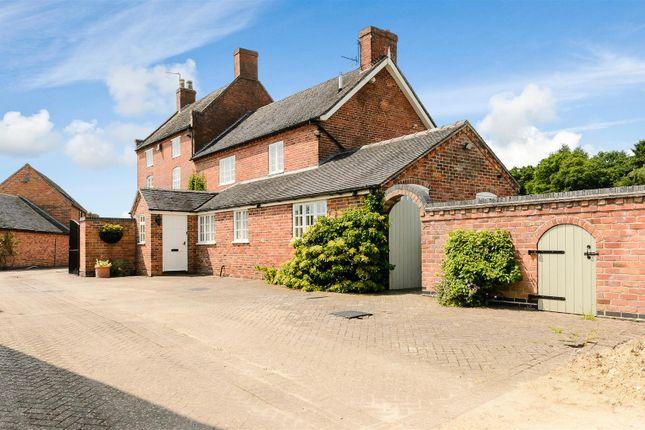 Thumbnail Farmhouse for sale in Callans Lane, Heath End, Nr. Calke, Ashby-De-La-Zouch