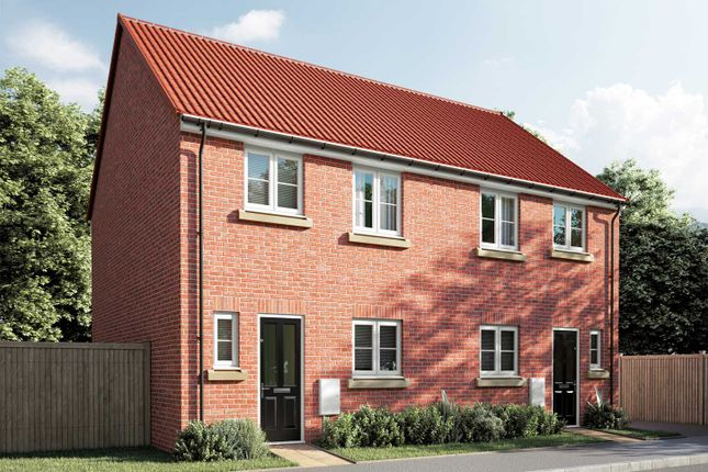 """3 bedroom semi-detached house for sale in """"The Eveleigh"""" at Sparkmill Lane, Beverley"""