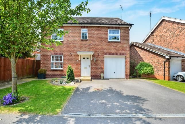 Thumbnail Detached house for sale in Dodsley Way, Clipstone Village, Mansfield, Nottinghamshire
