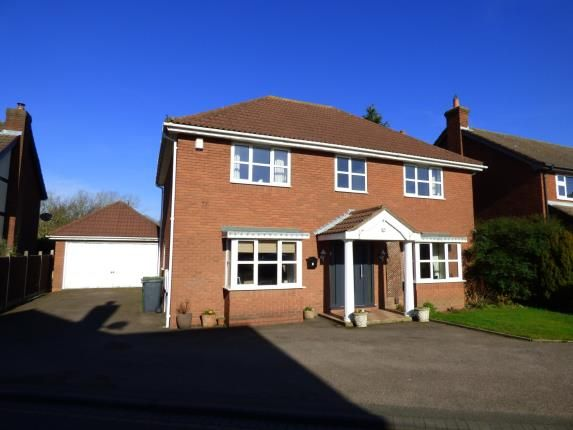Thumbnail Detached house for sale in Deepdale, Wilnecote, Tamworth, Staffordshire