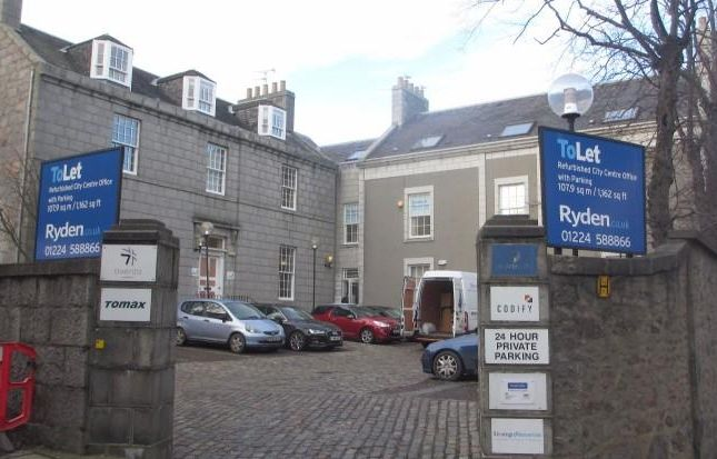 Thumbnail Office to let in Second Floor West, Migvie House, 23 North Silver Street, Aberdeen