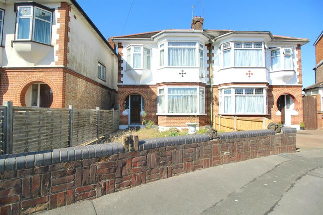 Thumbnail Semi-detached house for sale in Orchard Crescent, Enfield