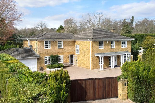 Thumbnail Detached house for sale in Cheapside Road, Ascot, Berkshire