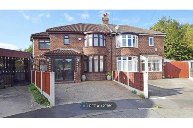 Thumbnail Semi-detached house to rent in Avalon Drive, Manchester