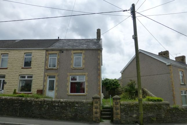 Thumbnail End terrace house for sale in Southall Street, Brynna, Pontyclun